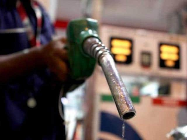 Petrol price was hiked by Rs 1.34 a litre on Saturday, the fifth increase in two months, and diesel by Rs 2.37 a litre on back of spike in global rates.