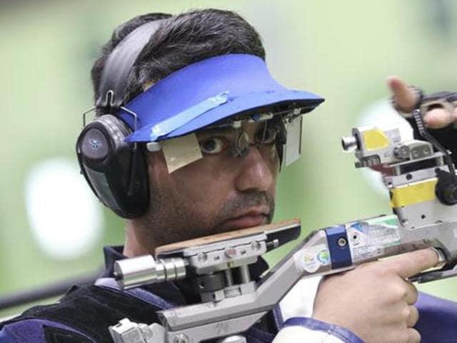 (from left) Gagan Narang, Abhinav Bindra, Apurvi Chandela, Jitu Rai and Gurpreet Singh all returned empty handed from 2016 Rio Olympics.