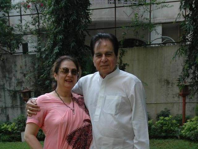 I don t miss having a child because dilip saab is like a for Saira banu granddaughter