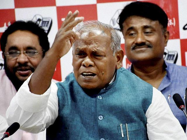 """""""If my grandson has done anything wrong, law should take its own course. But I smell conspiracy in the entire episode,"""" said Manjhi."""