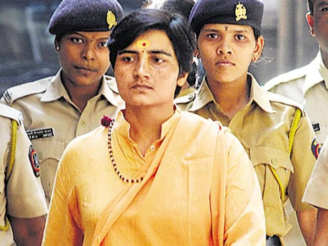 Malegaon blast accused Sadhvi Pragya Singh Thakur produced at session's court by ATS