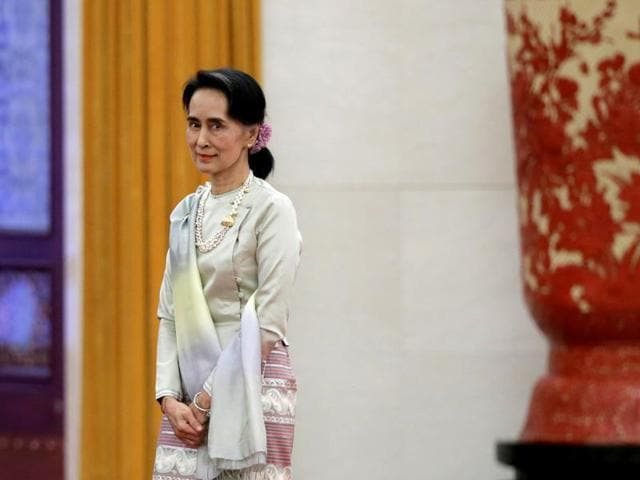 Aung San Suu Kyi may have a delicate role to play, especially now when India-China relations are under marked stress