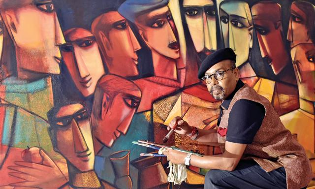 Paresh Maity,Rashtrapati Bhavan,Artist-in-residence