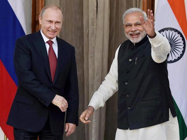 PM Modi,Russian President,India-Russia deals