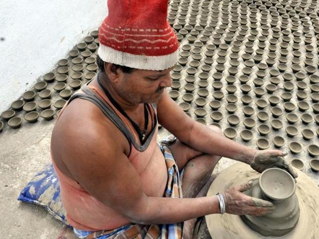 Indore,potters,bright Diwali
