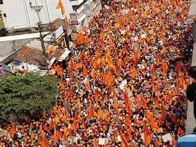 Maratha marches,Maratha protests,maharashtra