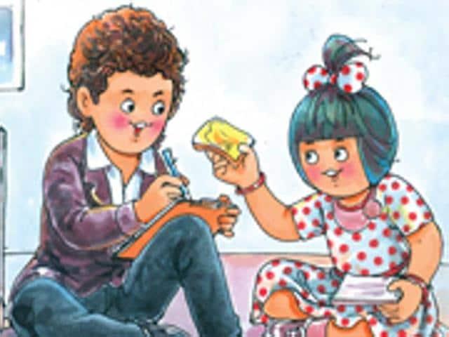 Amul girl,Amul cartoons,Amul girl turns 50