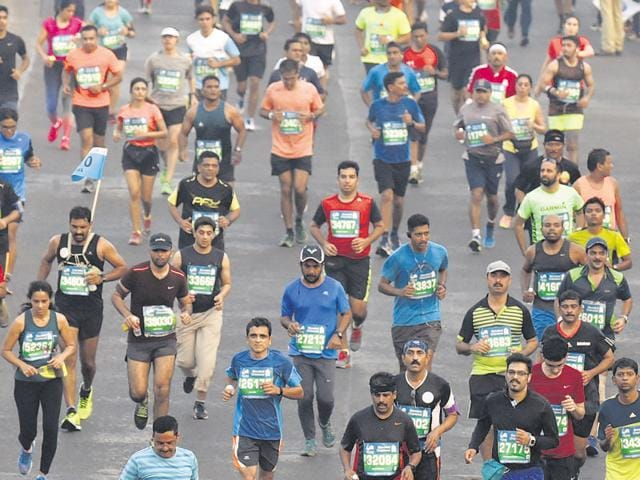 With the Delhi half marathon and the Mumbai marathon fast approaching, now's the time to start training.
