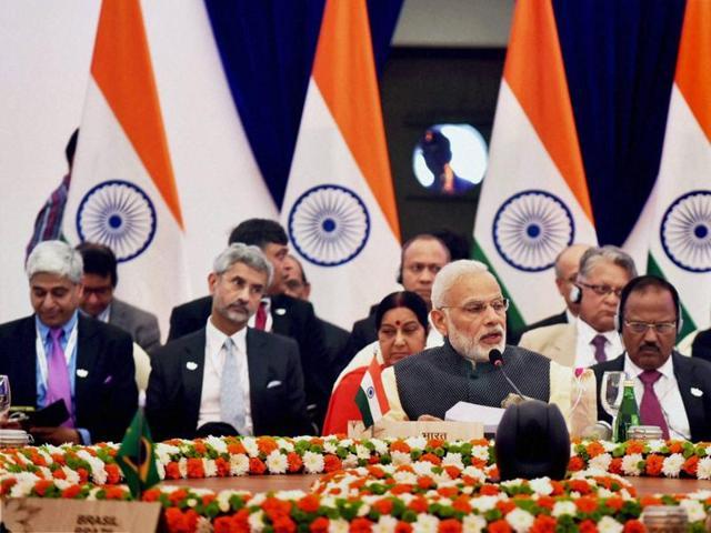 Selective approach to terrorism will be futile: PMModi at BRICS Summit