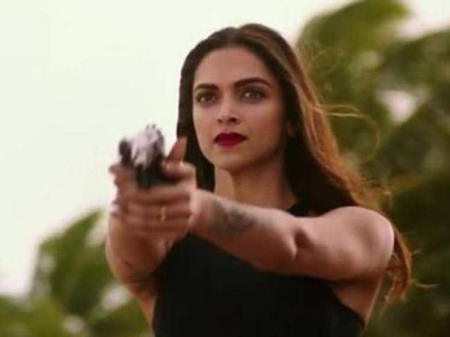 Deepika Padukone in a still from xXx: The Return of Xander Cage.