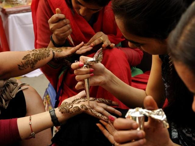 Mehendi rates skyrocket by the hour as Karva Chauth starts approaching.