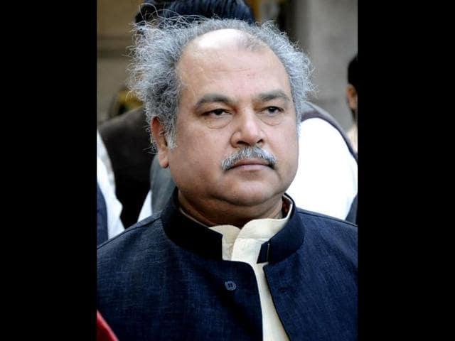 The Delhi-bound flight was carrying 110 passengers, including Union minister of mines, steel, labour and employment Narendra Singh Tomar.