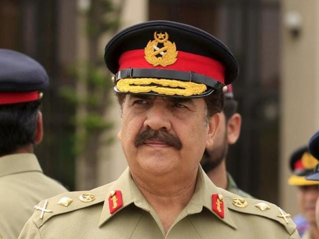 Pakistan's Army Chief General Raheel Sharif