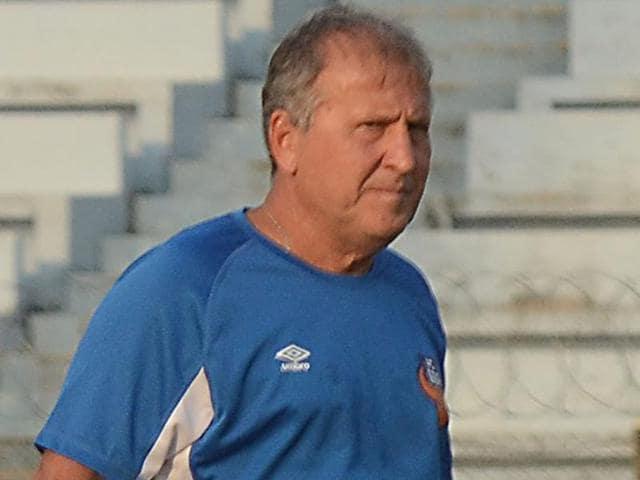 Zico is in his third season as FC Goa coach.