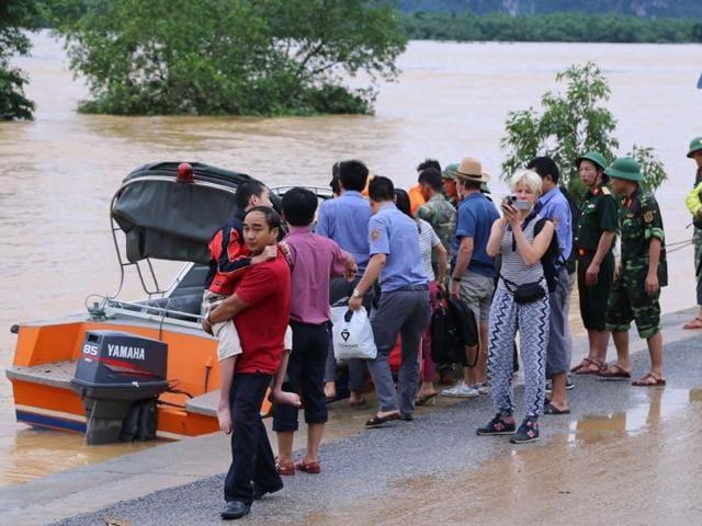 Vietnam,Floods,Tropical storm