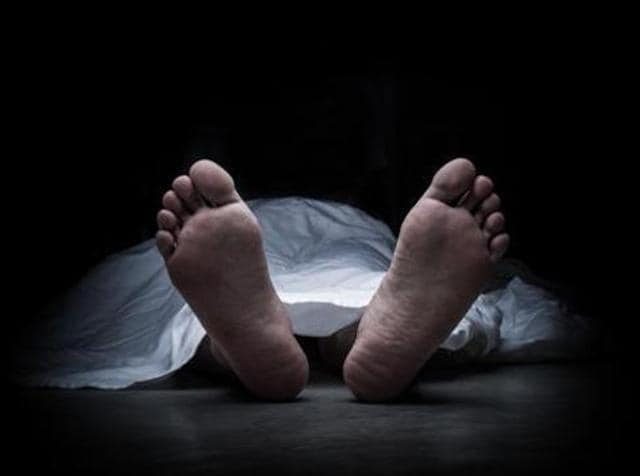 A 38-year-old local BJP leader was shot and hacked to death allegedly by a group of persons in broad daylight in Talegaon Dabhade, 35 km from here, on Sunday.