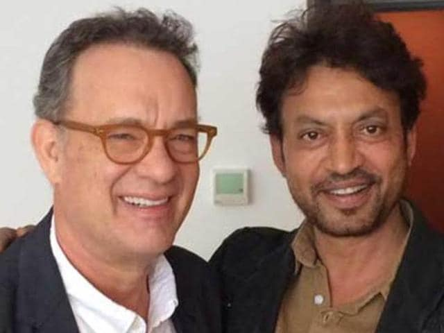 Irrfan can't stop praising Tom Hanks' style of working.