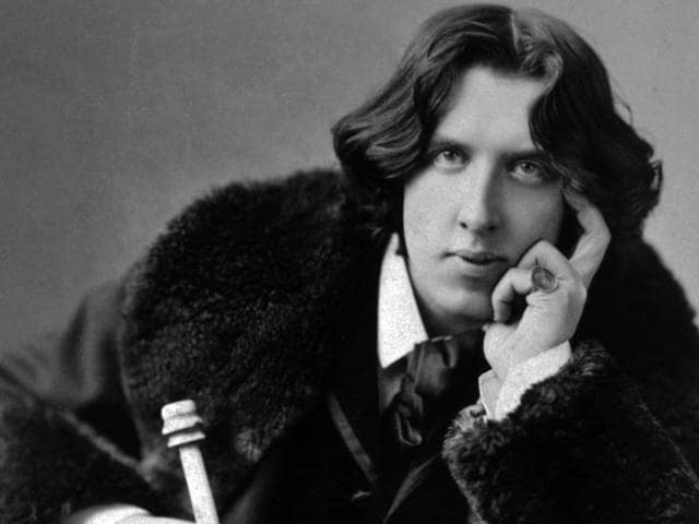 Wilde's wife, Constance Llyod, supported him till his tragic end (he died a destitute in exile after serving a two-year prison term for being gay).