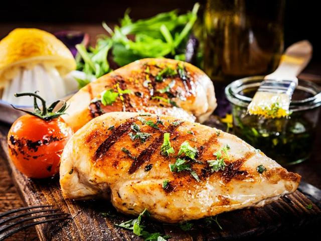 Chicken, the only food that can be considered healthy, came seventh in the list.