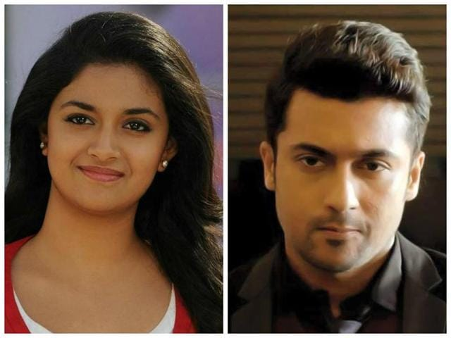 Keerthy Suresh has just delivered a hit called Remo while Suriya is busy working on the third installment of his hit series, Singam, calledS3.