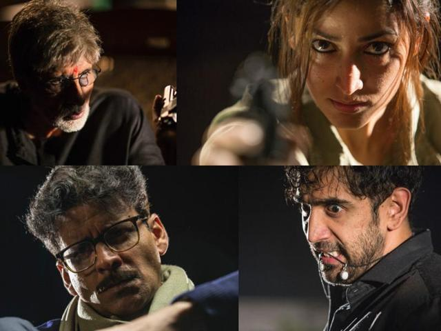RGV shared the first looks and names of the characters from Sarkar 3 on Twitter.