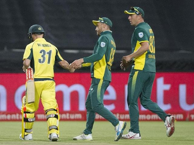 South Africa whitewashed Australia 5-0 for the first time in an ODI series.