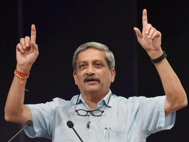 Defence minister Manohar Parrikar said the Indian Army was giving a befitting reply to ceasefire violations.