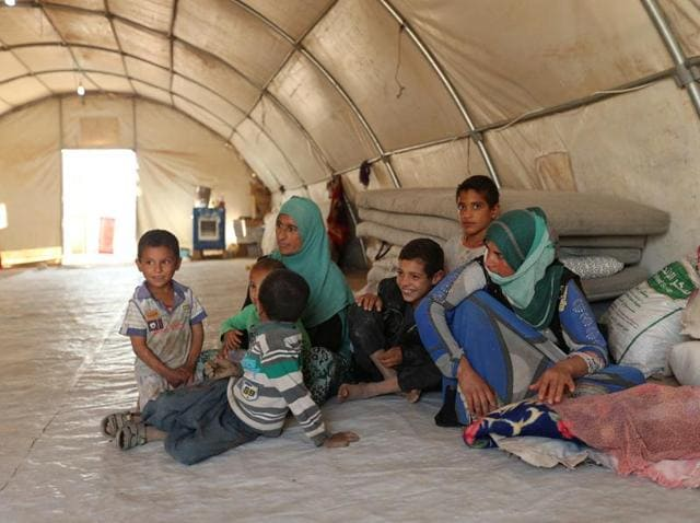 The UN is bracing for a flood of displaced people from Mosul.