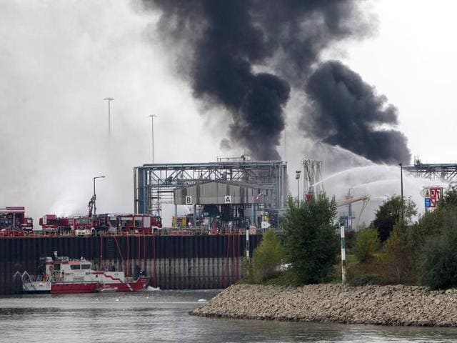 Explosion at chemical plant in Germany,BASF Germany,Ludwigshafen