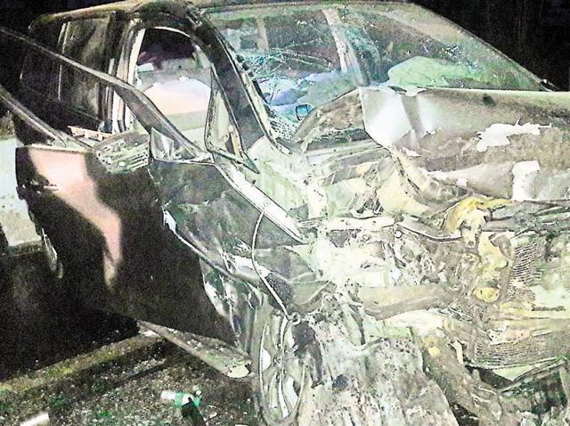 Three killed,road mishap,SGPC member