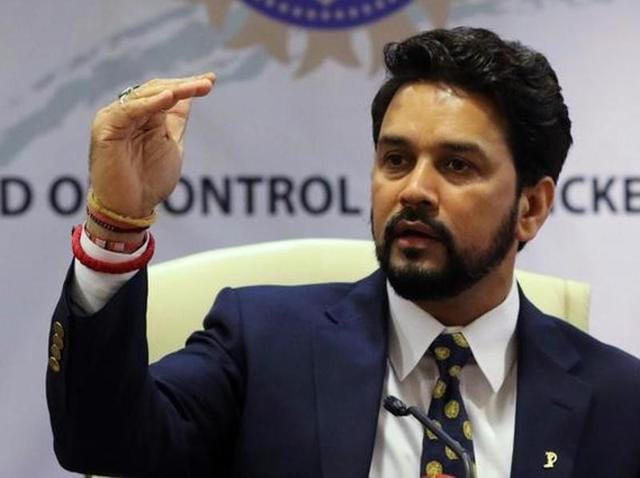 The SC on October 7 had given BCCI president Anurag Thakur 10 days to file a personal affidavit, following media reporting ICC CEO Dave Richardson's claim that Thakur had made such a request.