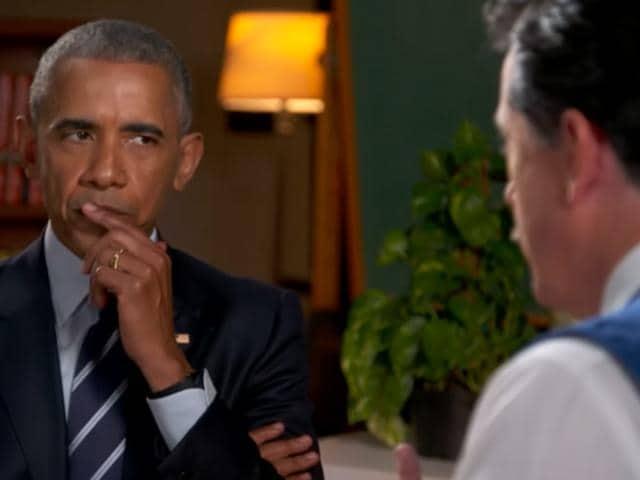 Stephen Colbert,Barack Obama,Comedy segment