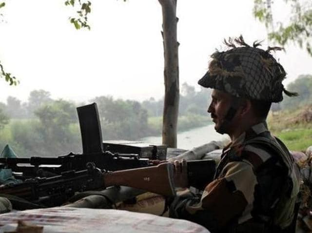 The shelling and firing in the Naushera sector began at 8.30 pm on Monday night and continued till 1.30 am on Tuesday, defence sources have said.