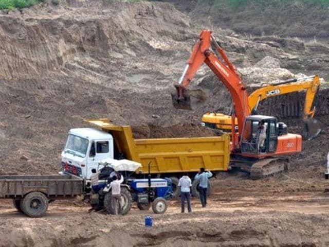 illegal mining,sand mafia,Aam Aadmi party