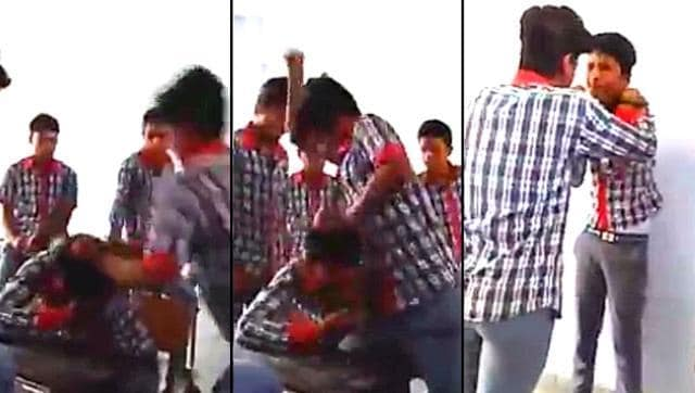 The Juvenile Justice Board (JJB) has remanded two students, accused of mercilessly thrashing a classmate at the Kendriya Vidyalaya, Muzaffarpur, to observation home for 14 days.