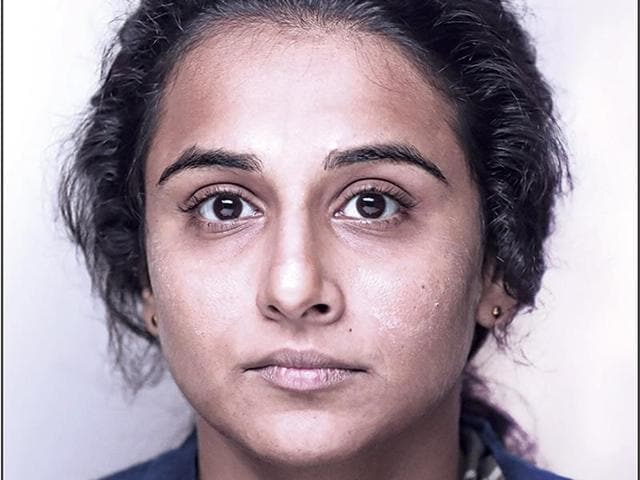 Vidya Balan sports a gritty look in the new poster for Kahaani 2.