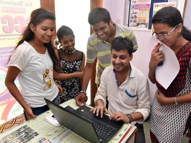 The application process for University Grants Commission's National Eligibility Test (NET) to determine the eligibility of candidates for the posts assistant professor and Junior Research Fellowship began on Monday.