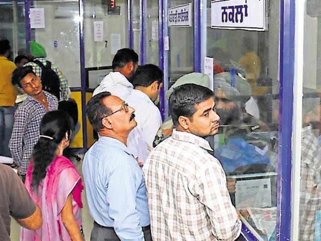 Suwidha centres,employees,bathinda