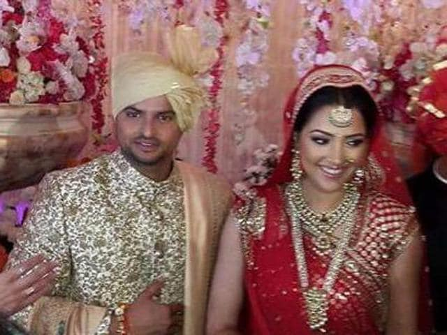 Cricketer Suresh Raina will be with his wife Priyanka Chaudhary in Delhi to celebrate Karva Chauth.