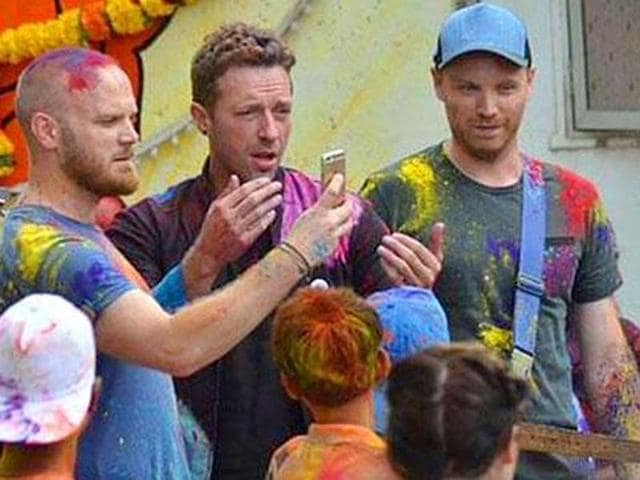 Coldplay,Chris Martin,Jonny Buckland
