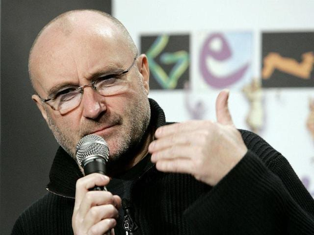 Phil Collins' 15-year old son, Nicholas will accompany  him.