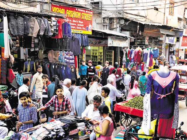 The duo intercepted her near Sadar Bazaar, a busy marketplace.
