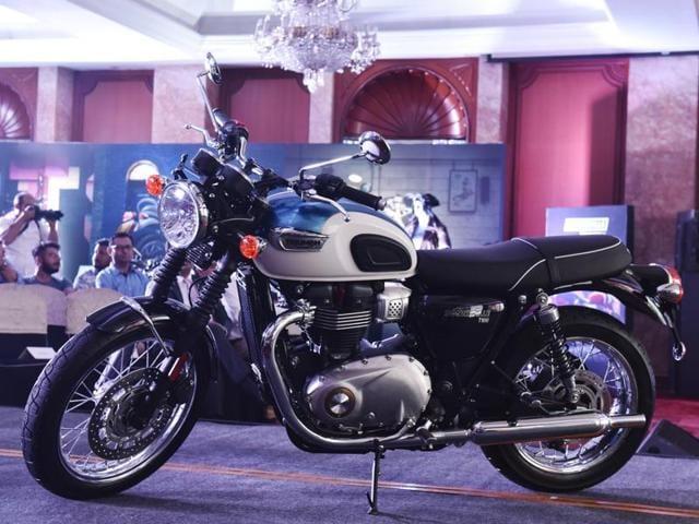 Triumph Bonneville T100 Launched