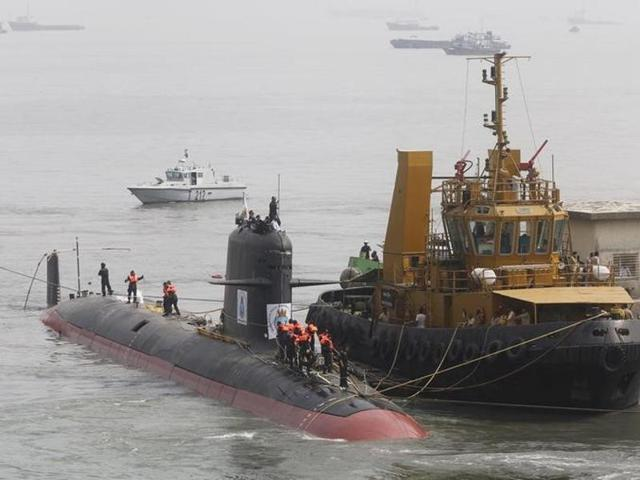 First indigenous nuclear submarine INS Arihant secretly inducted into service