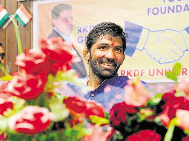 Yogeshwar Dutt said if celebrity, businessmen, industrialists and politicians really wanted to do something for the promotion of sports, they should sponsor players.