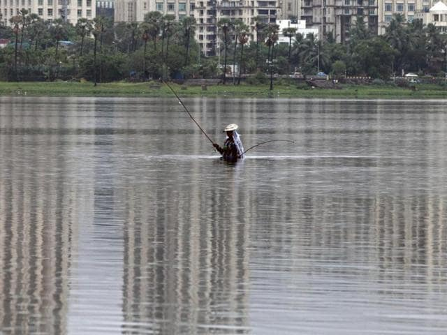 A PIL filed in the Bombay high court claims that untreated sewage and debris are dumped into the lake indiscriminately, the hillocks around the lake have been destroyed  and trees felled illegally