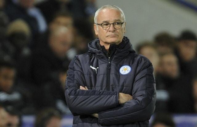 Ranieri is unhappy with the contrasting form Leicester have shown in the Premier League and in the Champions League.