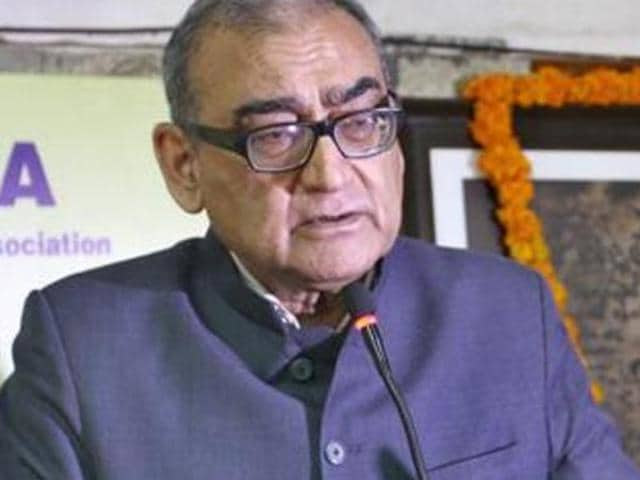 In a blog post, justice Markandey Katju questioned the ban on beef eating in some states, and added that he consumed the meat.