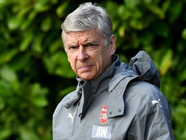 Arsenal manager Arsene Wenger during his team's Premier League match against Swansea.