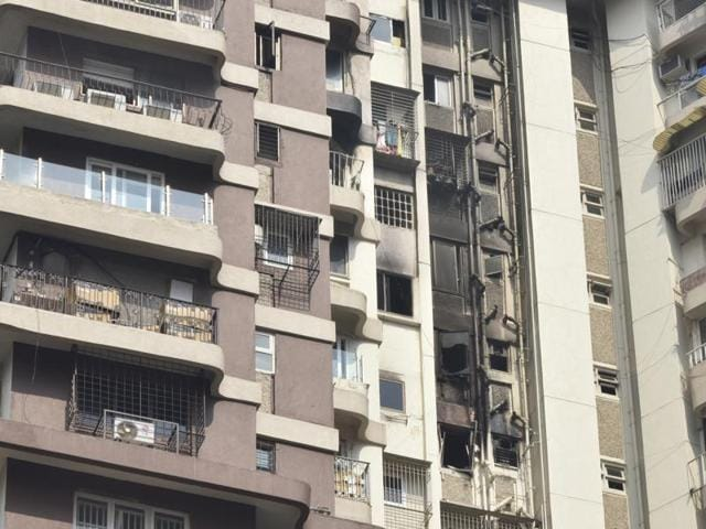 Cuffe Parade fire,fire safety,blaze